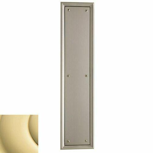 Baldwin 2280031 Push Plate 3-1/2