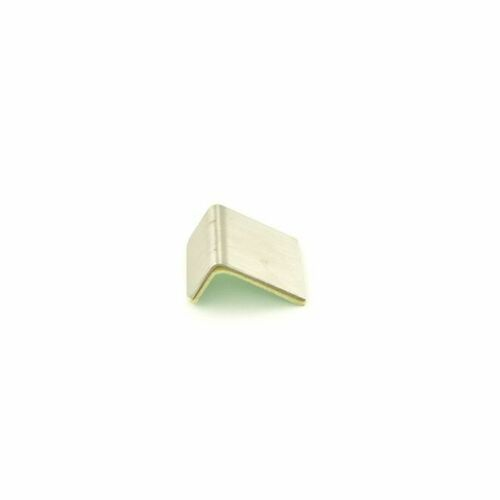 Trimco 4016ED.626 Edge Protector with Adhesive Tape Satin Chrome Finish