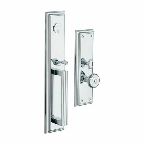 Baldwin 6542260ENTR Tremont Single Cylinder Entry Mortise Trim Bright Chrome Finish