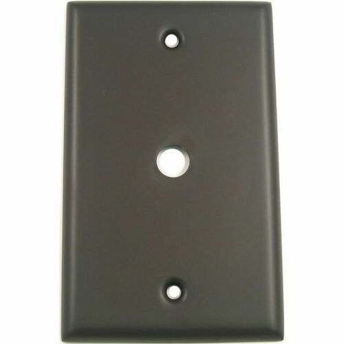 Rusticware 781ORB Single Cable Switch Plate Oil Rubbed Bronze Finish