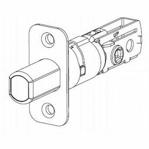 Kwikset 81258-15 UL Adjustable Radius Deadbolt Latch Satin Nickel Finish