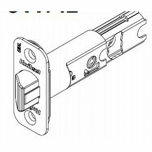 Kwikset 83000-26 6-Way Adjustable Deadlatch for Halifax and Milan Bright Chrome Finish