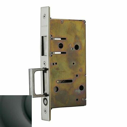 Baldwin 8603102 Pocket Door Strike with Pull for Dummy Side of Double Door Oil Rubbed Bronze Finish