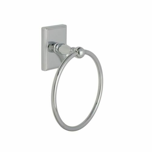 Weslock 9730CH Peoria Towel Ring Bright Chrome Finish