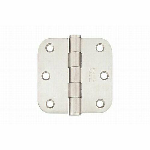 Emtek 9823332DSS Stainless Steel Pair of 3-1/2