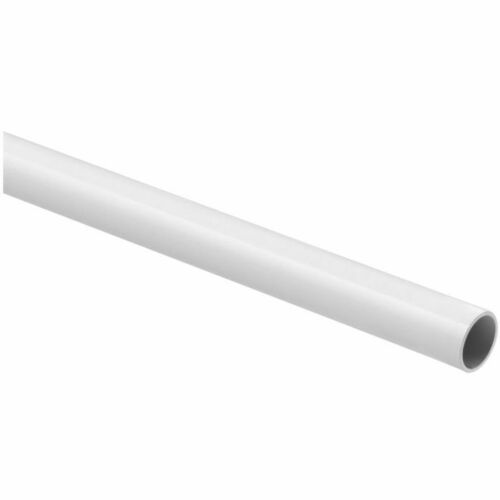 National Hardware BB8184WH6 6' Rod S820-126 White Finish Must be Purchased in Multiples of 6