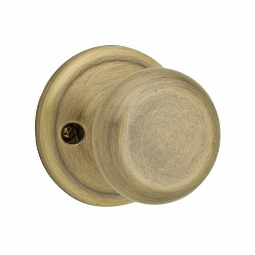 Kwikset CP788J-5 Clear Pack Juno Single Dummy Lock Antique Brass Finish