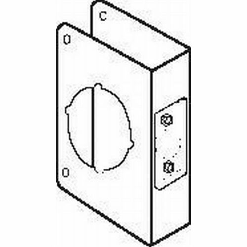 Don-Jo CW8110B Classic Wrap Around for Cylindrical Door Lock with 2-1/8
