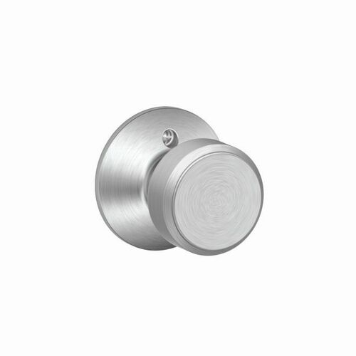 Schlage F170BWE626 Bowery Knob Half Dummy Satin Chrome Finish