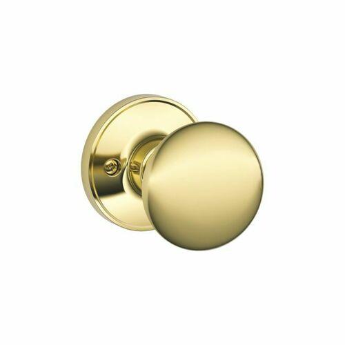Dexter J170STR605 Half Dummy Lock Stratus Bright Brass Finish