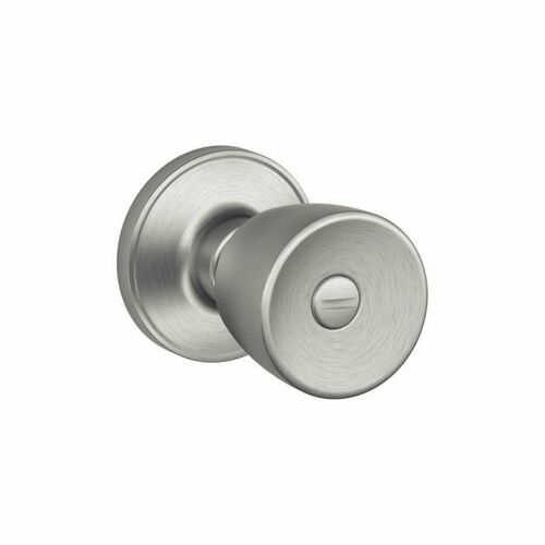 Dexter J40BYR630 Privacy Lock Byron with Adjustable Latch and Radius Strike Satin Stainless Steel Finish