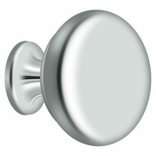 Deltana KR114U26 Knob Round Solid, Bright Chrome Finish