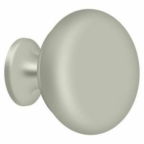 Deltana KRH114U15 Knob Round Hollow, Brushed Nickel