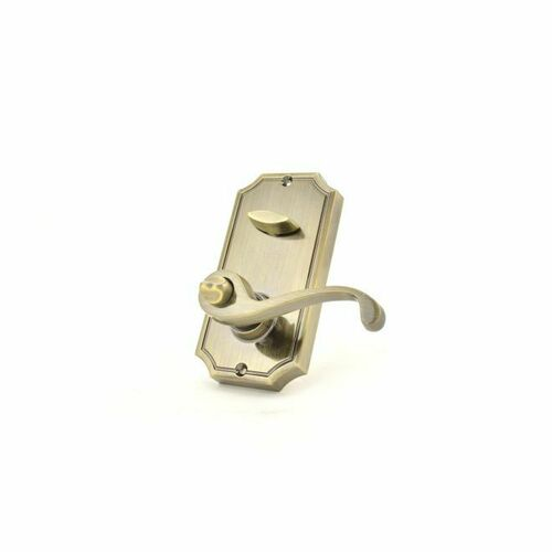 Weslock L1400--KA3820 Left Hand Calais Interior Active Interconnected Handleset Trim for Lexington or Colonial with 2-3/8