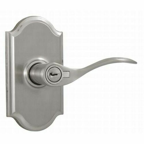 Weslock R1740UNUNSL23 Right Hand Bordeau Premiere Entry Lock with Adjustable Latch and Full Lip Strike Satin Nickel Finish