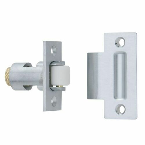 Ives RL3226D Nylon Roller Latch Satin Chrome Finish
