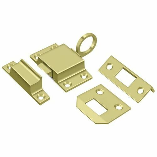 Deltana TC80U3 Transom Catch, Polished Brass